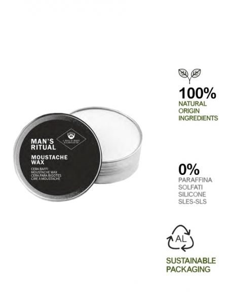 DEAR BEARD MAN S RITUAL MOUSTACHE WAX CERA BAFFI 30ml