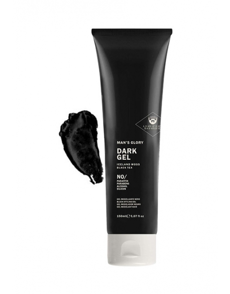 DEAR BEARD MAN S GLORY DARK GEL NERO 150ml