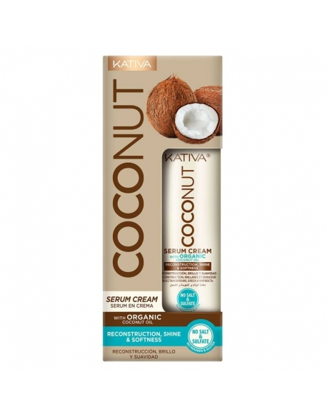 KATIVA COCONUT SERUM CREAM RECONSTRUCTION SHINE 200 ML
