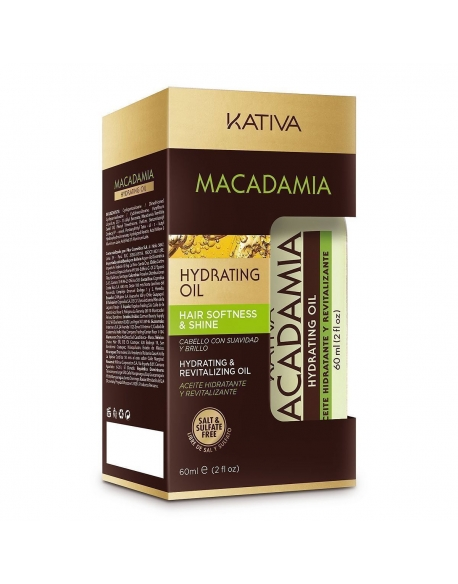 KATIVA MACADAMIA OIL HYDRATATION 60ml